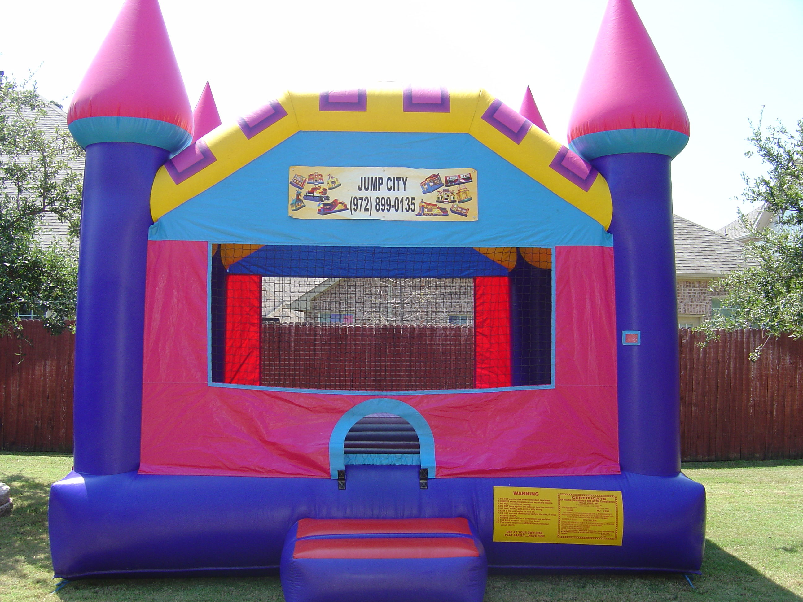 Bounce houses for rent in dallas texas bounce house for Dream home rentals